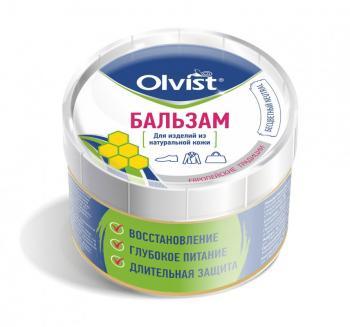 Olvist Бальзам для изделий из натуральной кожи купить