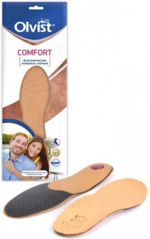 Анатомические кожаные стельки COMFORT (поразмерные) купить