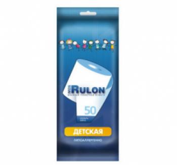 Авангард MON RULON детская влажная туалетная бумага,50шт, 48329, 28 купить