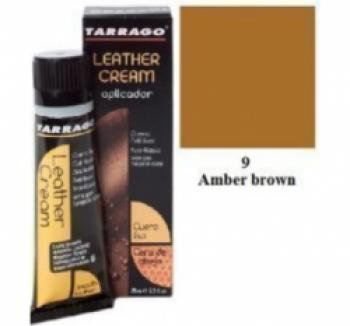 Уход за гладкой кожей TARRAGO Крем тюбик с губкой Leather cream, большой, янтарно коричневый, 009, 75 мл. купить