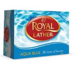 Мыло ROYAL LATHER Мыло туалетное Аква блю 125/48, 125гр купить