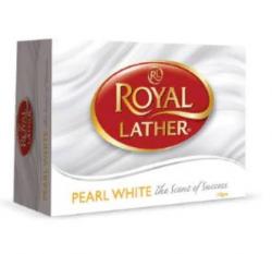 Мыло ROYAL LATHER Мыло туалетное Белый жемчуг 125/48, 125гр купить