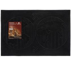 Коврики для ванной Коврик придверный 40*60 см, черный, Континенты VORTEX /20, 22459 купить
