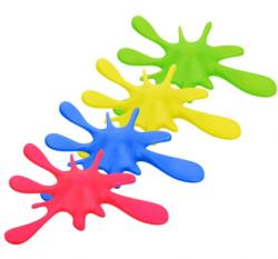 Коврики для ванной Стопор для дверей Клякса 18,5х3см, пластик, 4цвета в ассортименте,  VORTEX  48/12, 26025 купить
