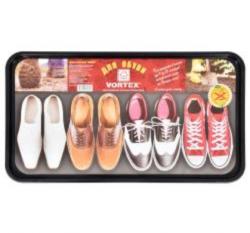 Коврики для ванной Лоток для обуви  63,5*35,4*1,3см черный  VORTEX/20, 22352 купить