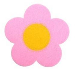 Товары для кухни Подставка Цветочек фетровая 11*11 см цвет в ассортименте  MARMITON 1296/48, 16159 купить
