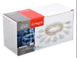 Гирлянды Электрогирлянда Снежинки 80 холодных LED ламп 10 м.220v/20, 55082 купить