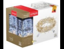 Гирлянды Электрогирлянда-конструктор Занавес 192 теплых LED ламп, 6 нитей, прозрачный провод, 1*4 м /32/4, 55024 купить
