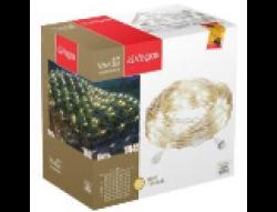 Гирлянды Электрогирлянда-конструктор Сеть 144 теплых LED ламп, прозрачный провод, 1,2*1,5 м /32/4, 55030 купить